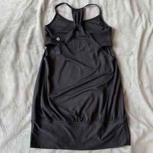 Lululemon turbo activewear tank top built in bra